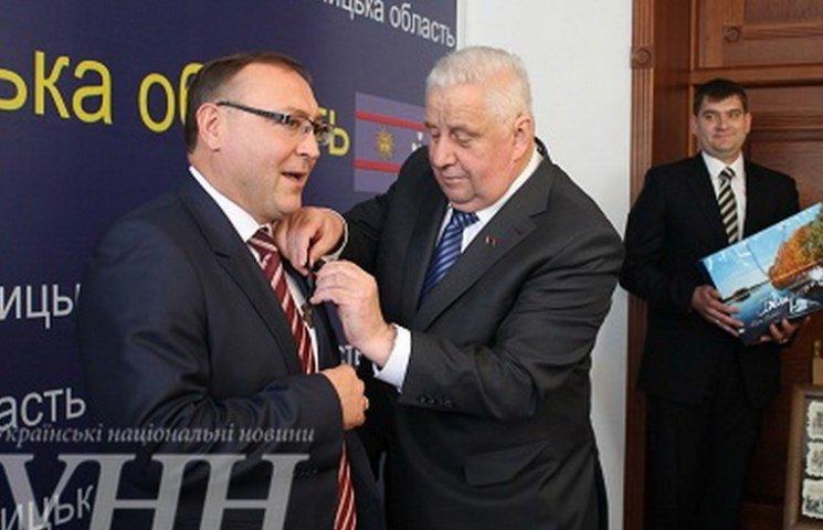 Губернатор Вінниччини отримав орден від посла Республіки Білорусь