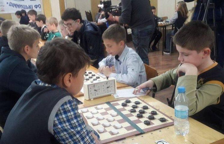 У Вінниці змагаються юні шашкісти з усієї України