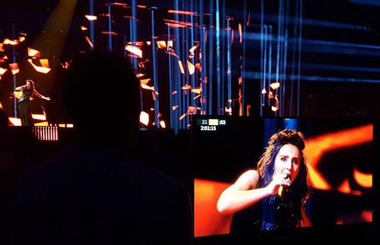 """Джамала показала свою першу репетицію на """"Євробаченні"""""""