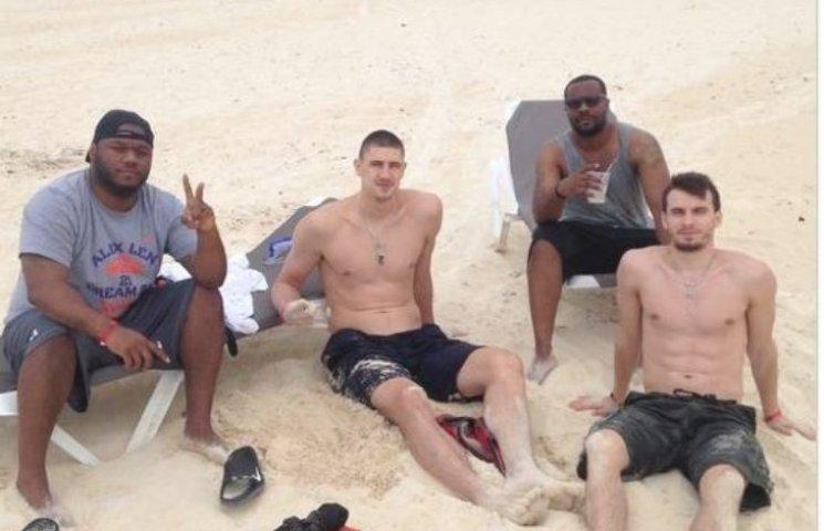Баскетболіст з Дніпропетровська врятував потопаючого товариша по команді NBA