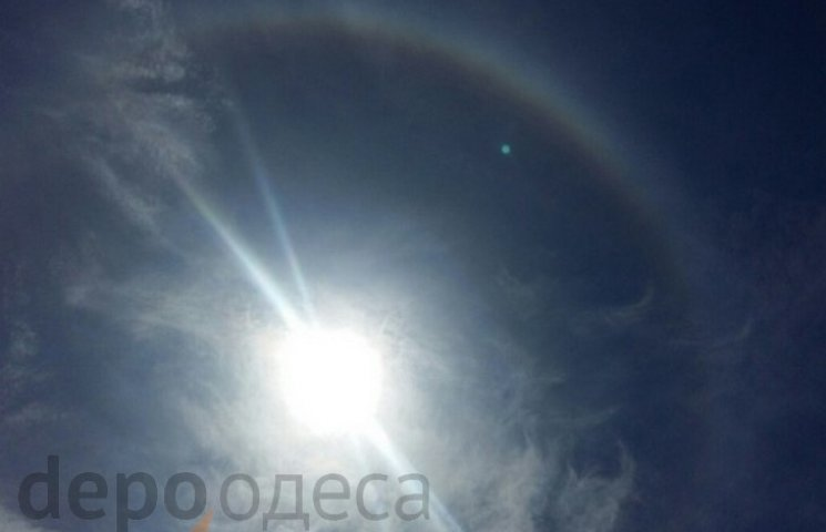 Сьогодні в Одесі спостерігали незвичайне явище в небі