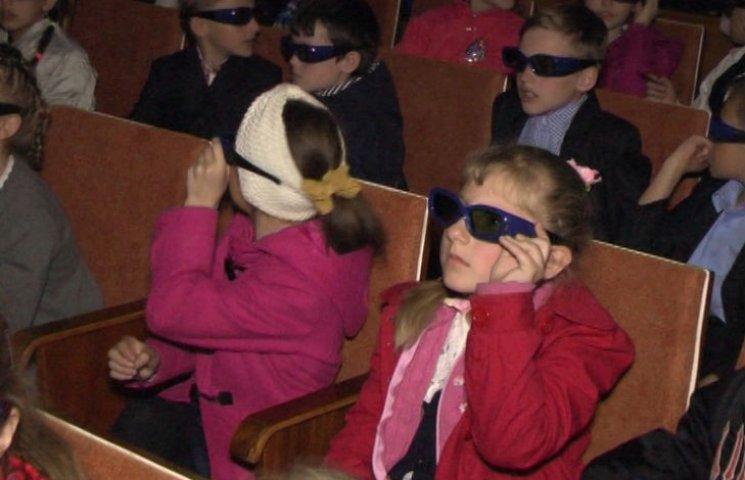 Вінницьких школярів зводили на кіноекскурсію