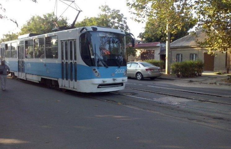 У Миколаєві тимчасово змінять рух трамваїв