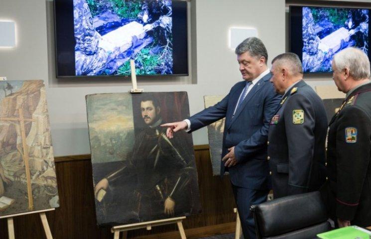 Українські прикордонники знайшли рідкісні картини викрадені в Італії