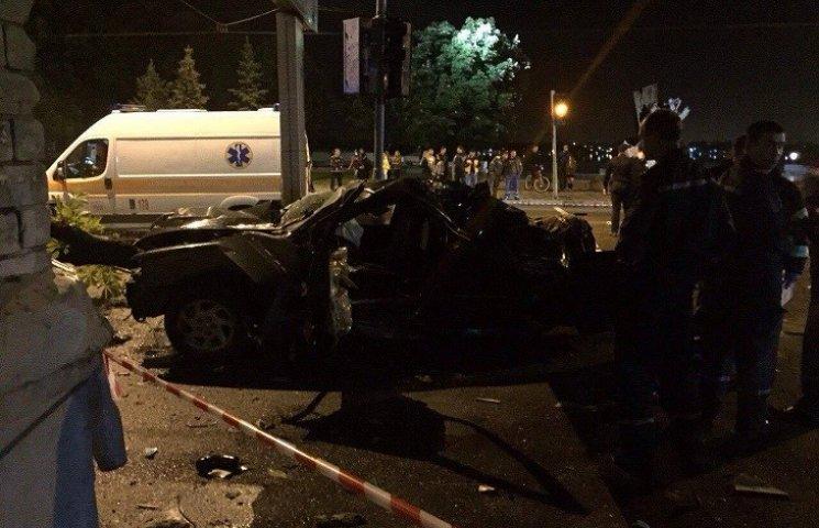 Страшна аварія в центрі Дніпропетровська: загинули дві дівчини