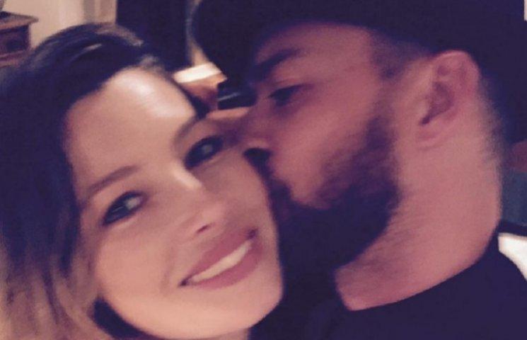 Джастін Тімберлейк з дружиною Джессікою Біл приїхав на Євробачення-2016
