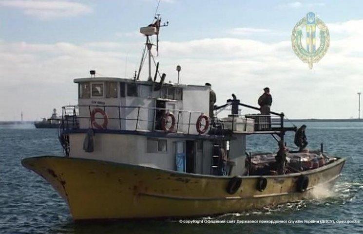 Конфіскована біля Одеси турецька шхуна залишиться в Україні