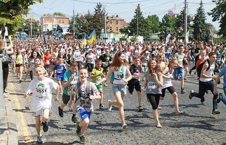 У Вінниці перекриють центр міста для бігунів