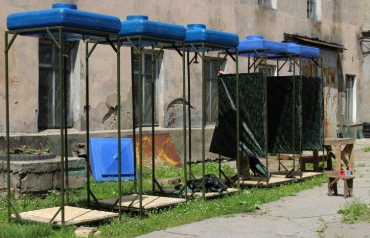 На Широколанівський полігон поїде 20 душових кабінок виробництва демобілізованих бійців (ФОТО, ВІДЕО)