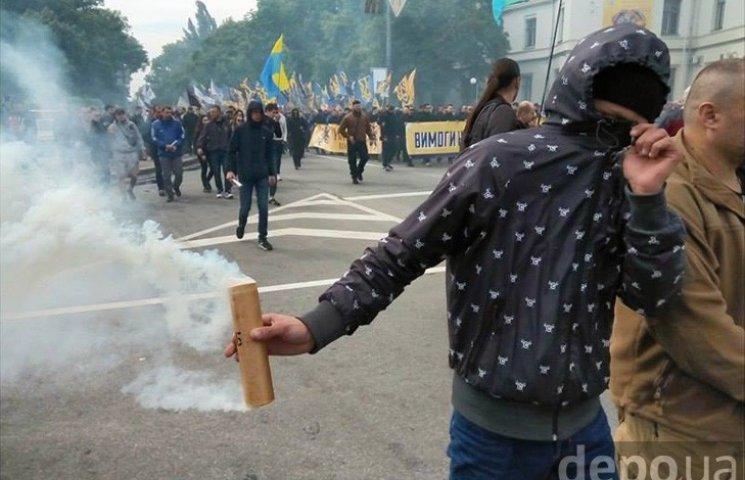 "Полк ""Азов"" на марше к  Раде (ФОТОРЕПОРТАЖ)"