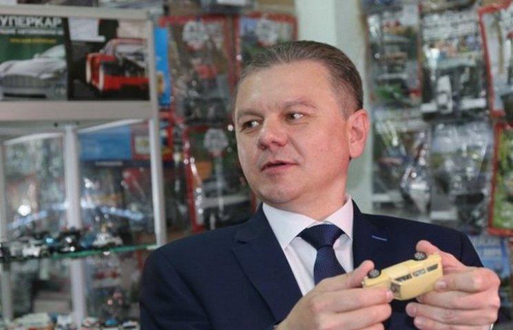 Моргунов подарував колекціонерам екземпляр італійського автопрому в мініатюрі