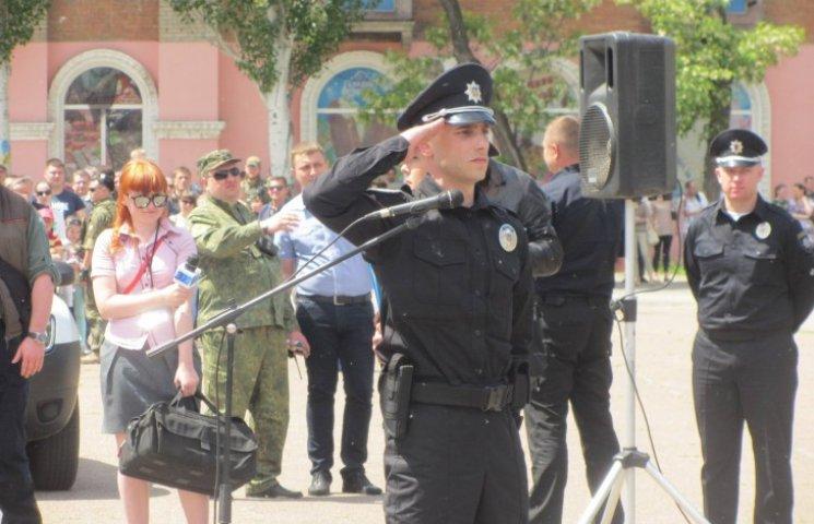 Голова патрульної поліції Луганщини: Тут люди такі самі, як у Львові