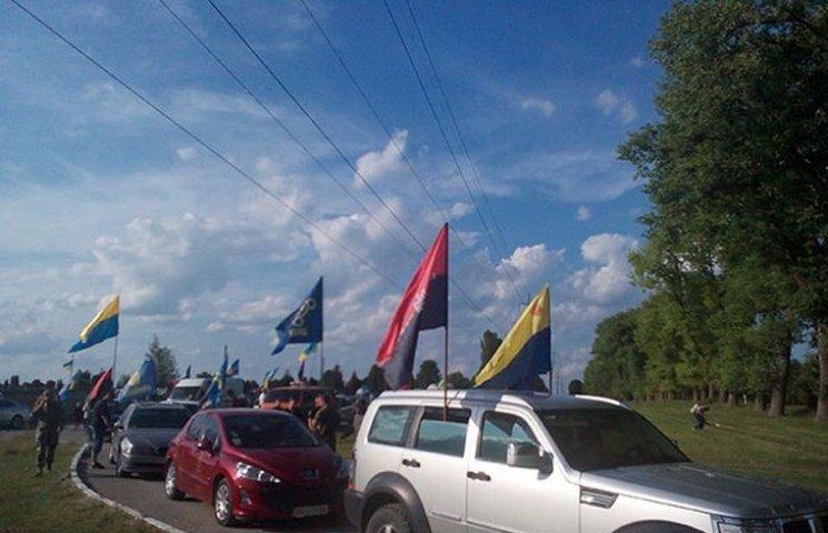 Масштабним автопробігом відзначили у Кам'янці-Подільському День Героїв