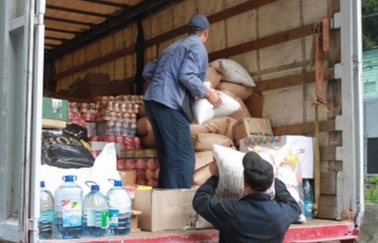Вінничани відправили на Схід півтори тонни допомоги