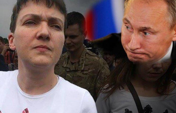 Савченко, Путин, Донбасс и большая политика с географией