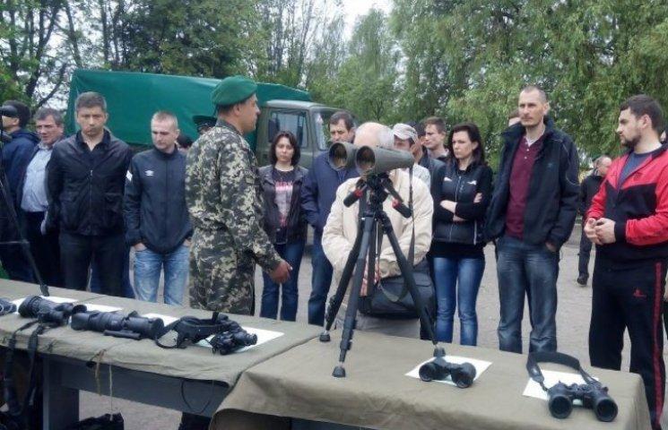Полігон прикордонників у Хмельницькому заполонили міські депутати