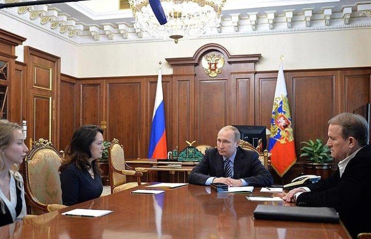 Для чего Медведчуку встреча Ерофеева с Савченко