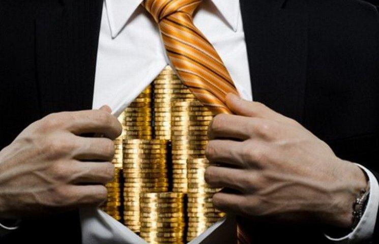 Середній прибуток чесного дніпропетровського багатія складає 5 млн грн
