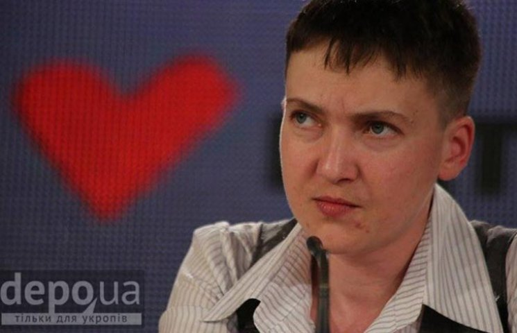 Савченко показала, что не собирается становиться Парасюком