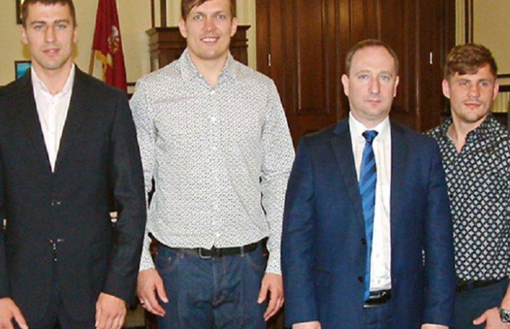 Голова Харківської ОДА Райнін ініціював спортивне свято з олімпійськими чемпіонами