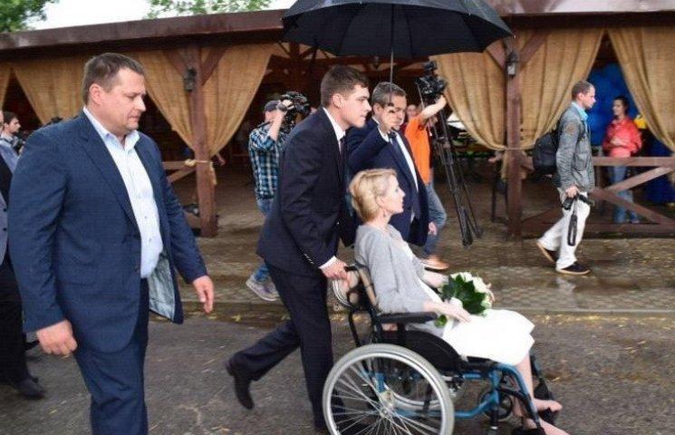 Філатов замість рушника поклав під ноги одруженої Зінкевич свій піджак