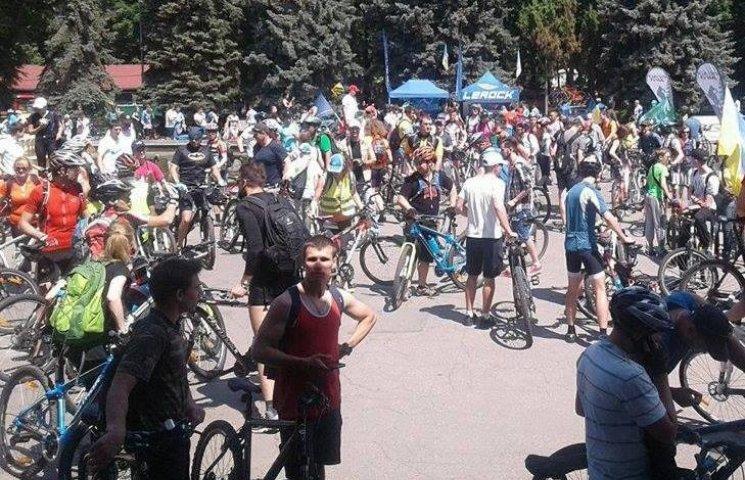 Тисяча вінничан взяла участь у загальноміському велопробігу