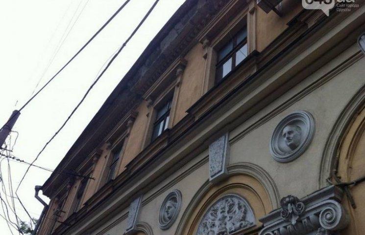 В центрі Одеси обвалився карниз одного з будинків