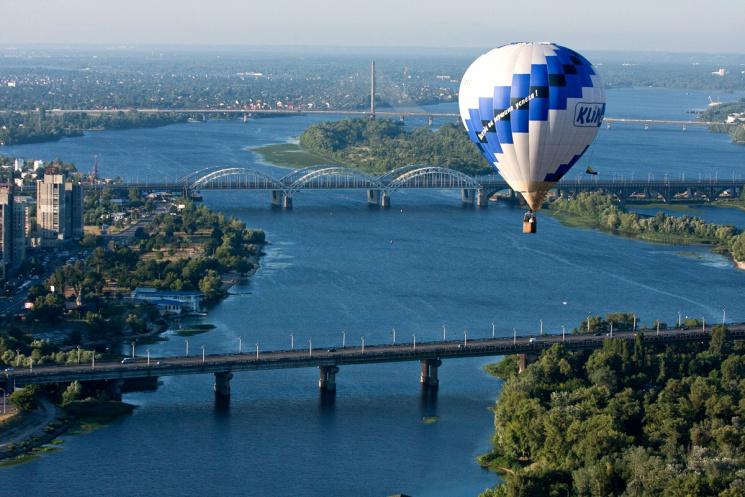 Вовремя Евровидения небо столицы Украины оккупируют воздушные шарики