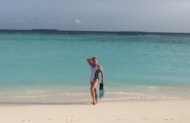 Гонтарева отдохнула на Мальдивах на милл…