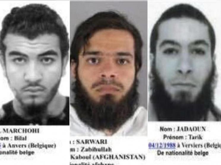 ВоФранции вдень выборов президента ищут 3-х террористов