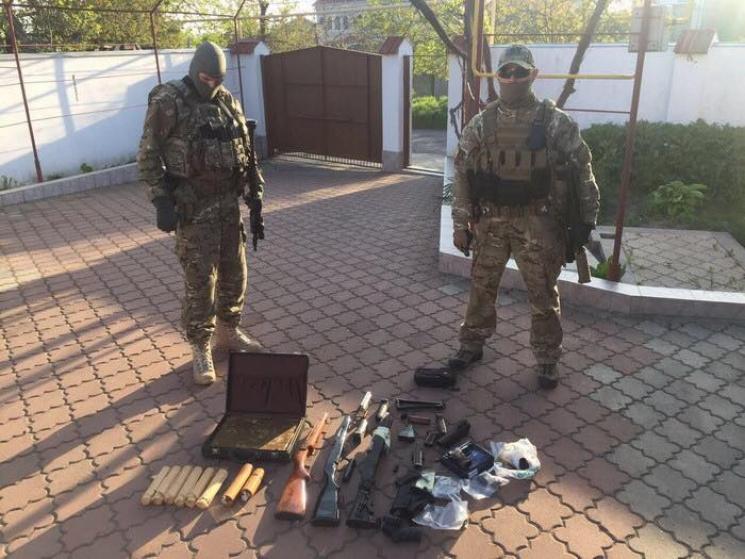 СБУ вОдессе задержали организатора подпольной оружейной мастерской