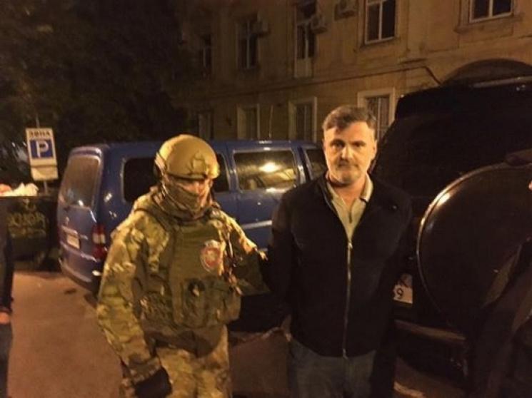 Грузинский «вор взаконе» «Гуга» пойман вОдессе