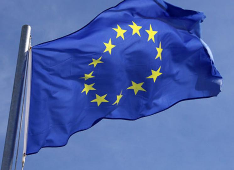 Над Україною замайоріли прапори ЄС: уЖитомирі пішли нарекорд