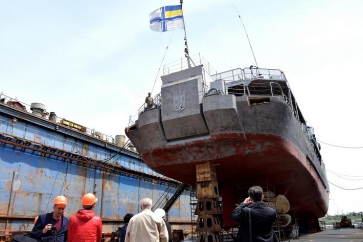 «Гетман Сагайдачный» встал вдок наплановый ремонт. ВЧерноморске