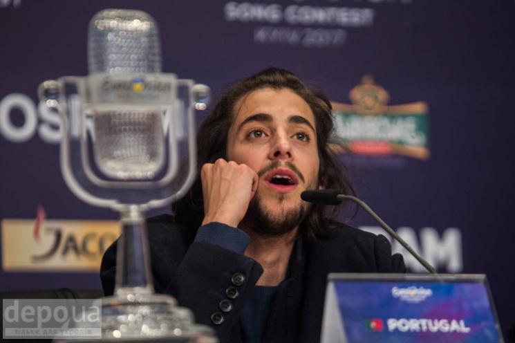Євробачення-2017: Якими секретами поділився переможець Сальвадор Собрал з журналістами