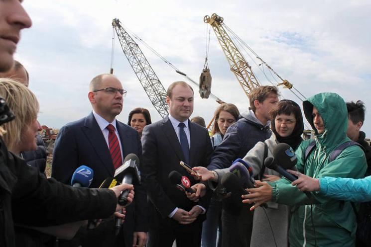 Одесский губернатор открыл движение пообъездной дороге натрассе Одесса-Рени
