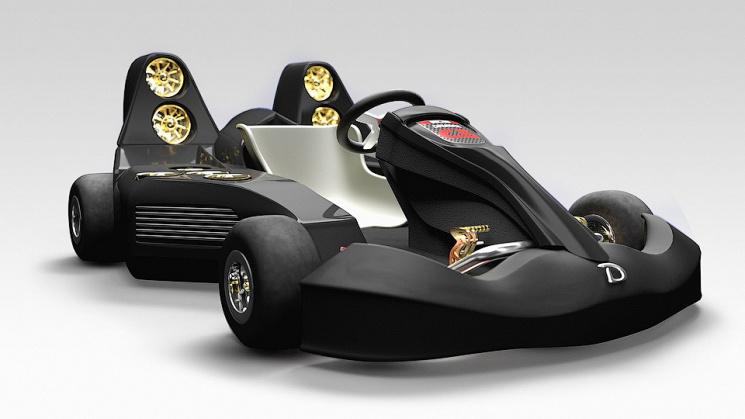 Канадская компания Daymak создала самый быстрый вмире электромобиль