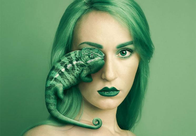 Замечательный фотопроект о родстве людей и животных (ФОТО)