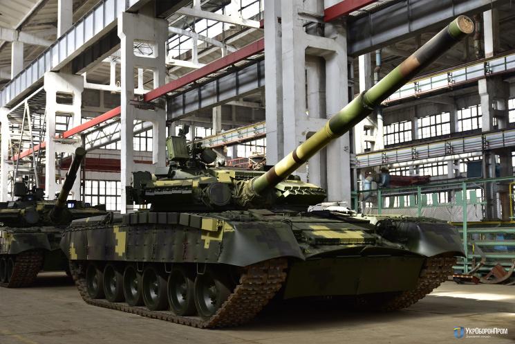 «Укроборонпром» показав партію «летючих» танків для десантників