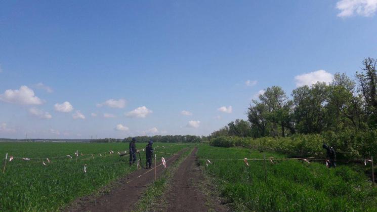 ДСНС: Поля навколо Балаклії очищені від боєприпасів