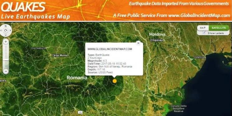 НаОдещині - другий затравень землетрус