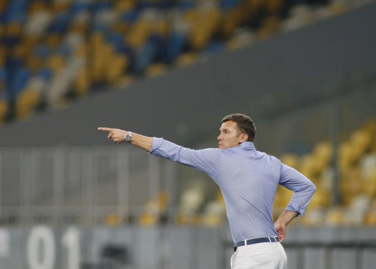 Шевченко назвал состав наматчи сМальтой иФинляндией