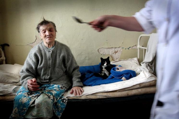 Дом для пожилых людей в донецке тимешевский дом интернат для престарелых и инвалидов