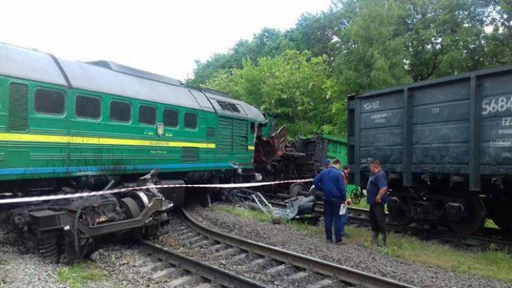 НаХмельниччині зіткнулися два потяги: травмовано дітей
