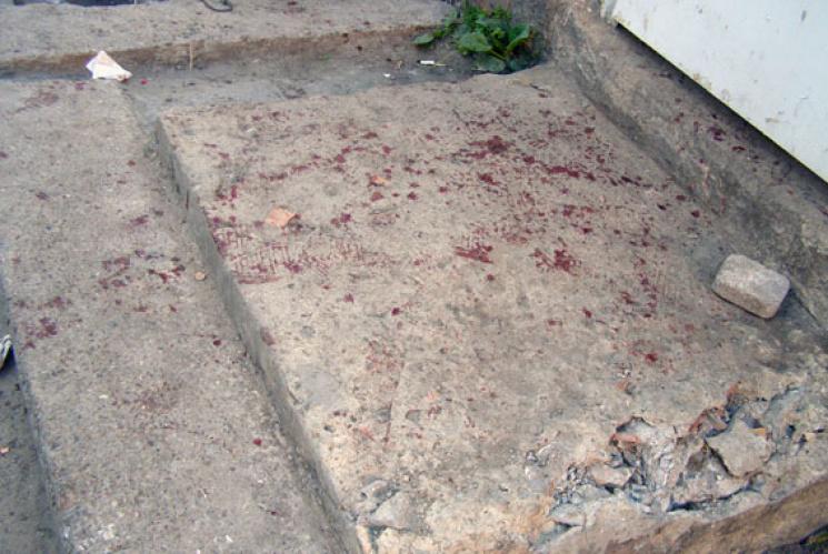 ВОдесском баре устроили кровавую поножовщину сжертвами