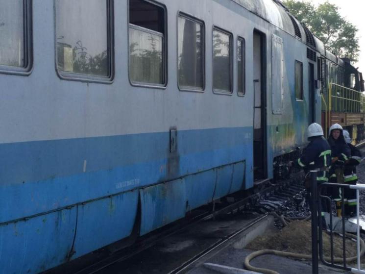 ВЧерновцах из-за задымления впоезде люди выпрыгивали изокон вагона