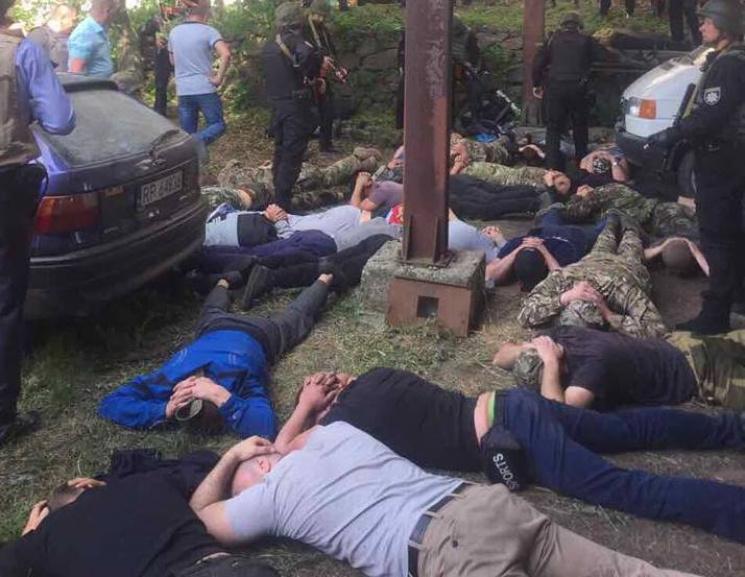 Князев: НаВиннитчине милиция уложила «мордой вземлю» 42 вооруженных рейдеров