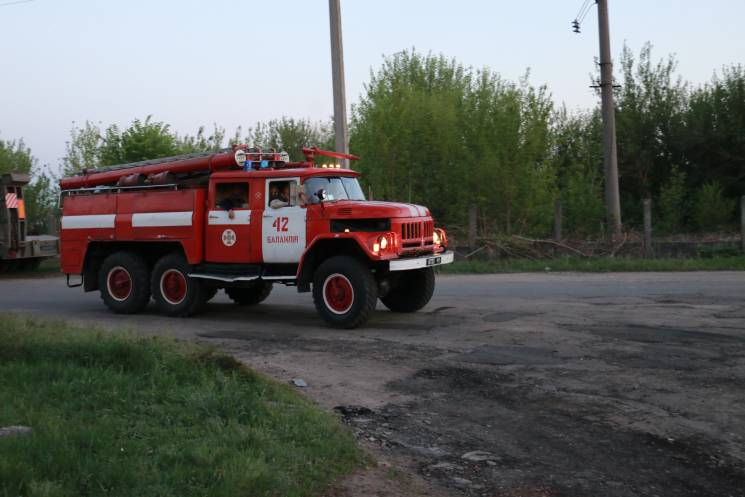 Пожар вБалаклее: cотрудники экстренных служб отчитались оситуации