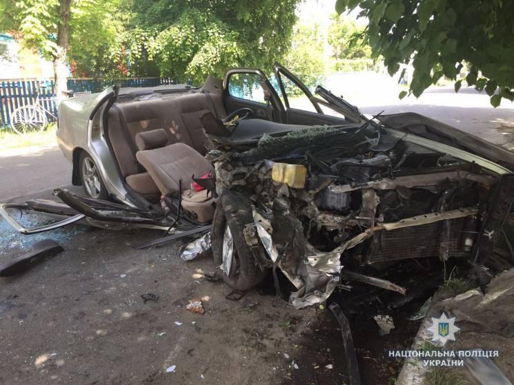 """Смертельна ДТП на Житомирщині: Одесит на """"Тойоті"""" в'їхав у трьох жінок-пішоходів (ФОТО)"""