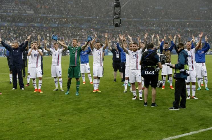 Сборная Исландии представила заявку начемпионат мира 2018 года в РФ